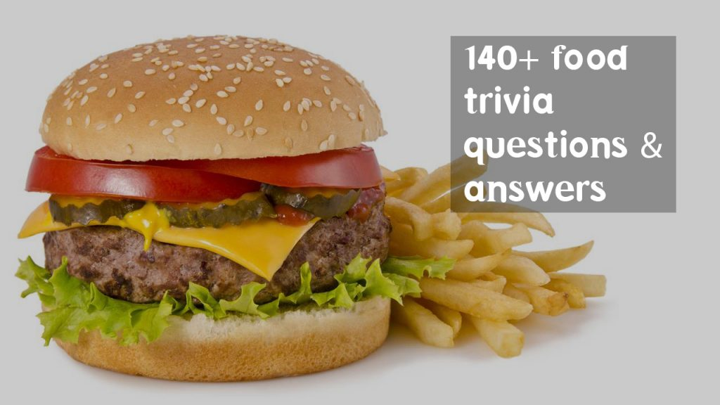 food trivia questions answers fast healthy foods