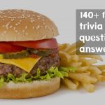 140+ Top Food Trivia Questions