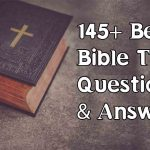 135+ Bible Trivia Questions [Jesus history]