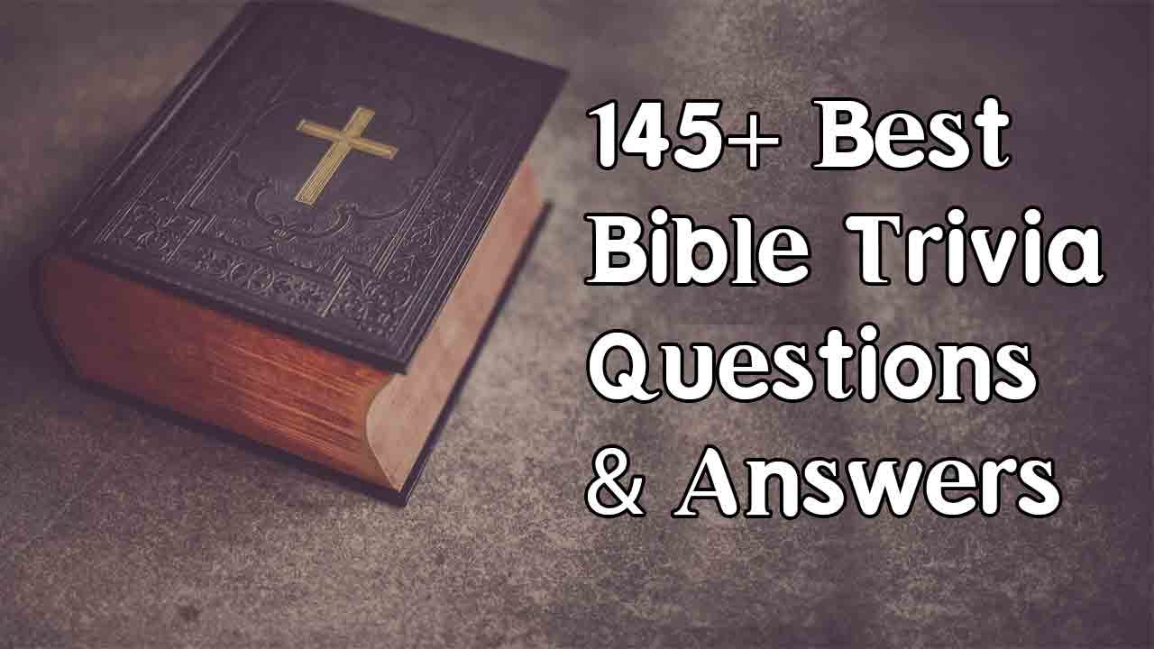image about Printable Bible Trivia Games known as Bible Trivia Concerns