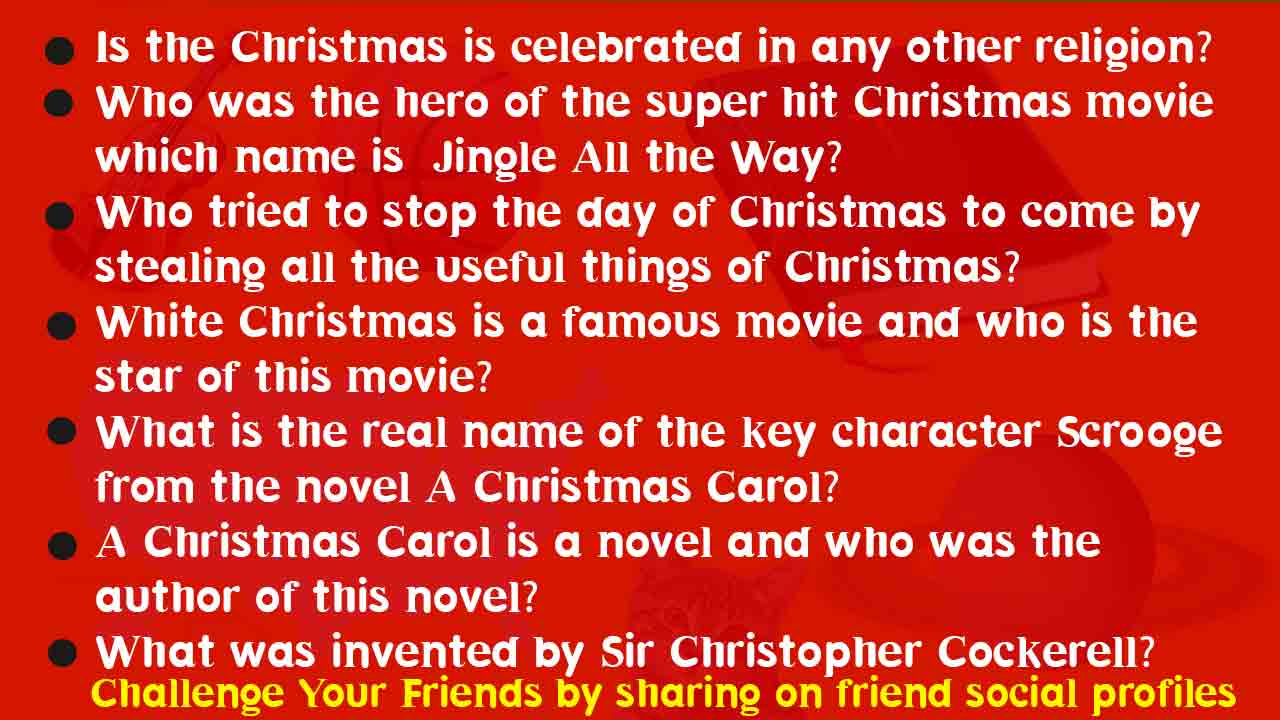 Christmas Trivia Facts.105 Christmas Trivia Questions With Answers Religious