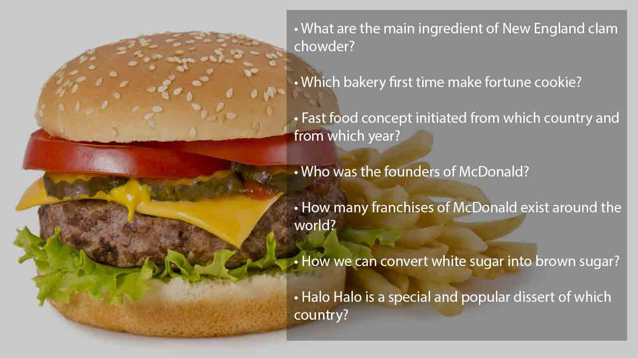 fast food-trivia-questions and-answers
