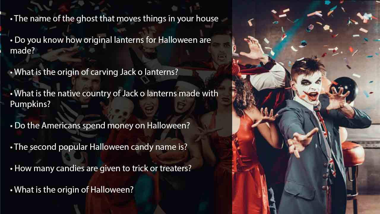 5-minute-easy halloween quiz-answers