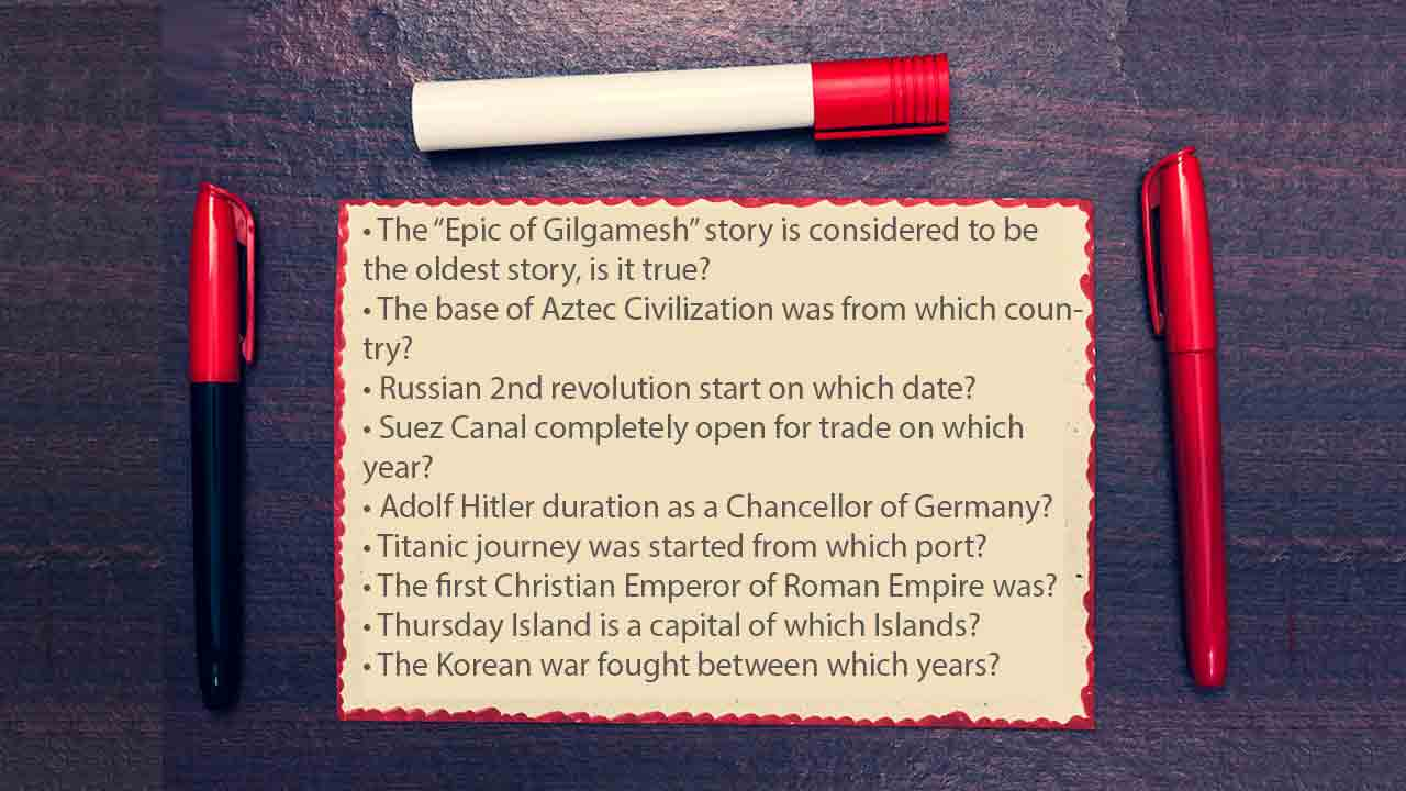 Best trivia questions ever