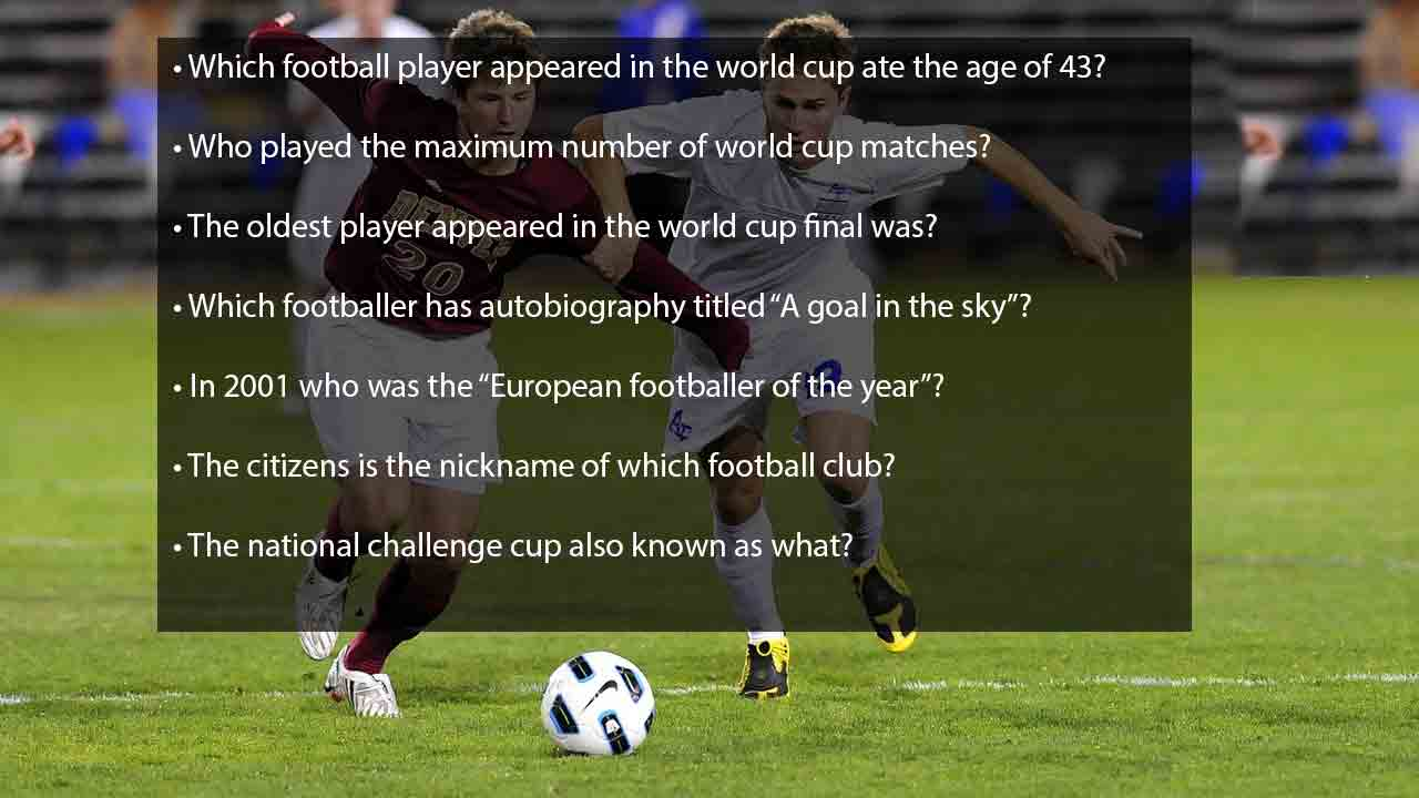 trivia questions about soccer