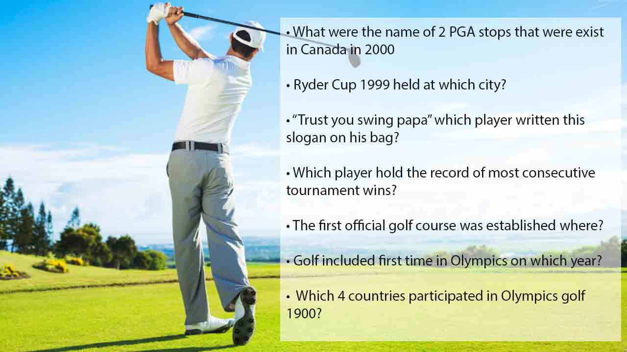 funny golf trivia questions
