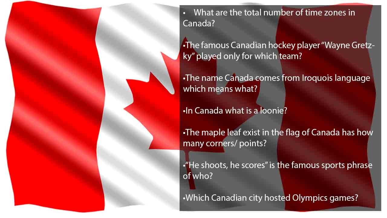 funny questions about canada