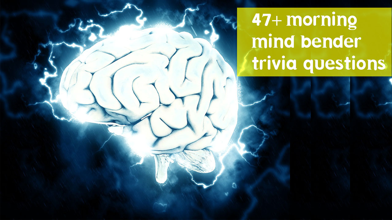 morning mindbender trivia questions