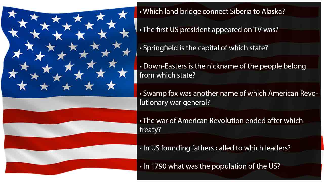 picture regarding American History Trivia Questions and Answers Printable called 50+ Perfect trivia queries concerning the United states of america