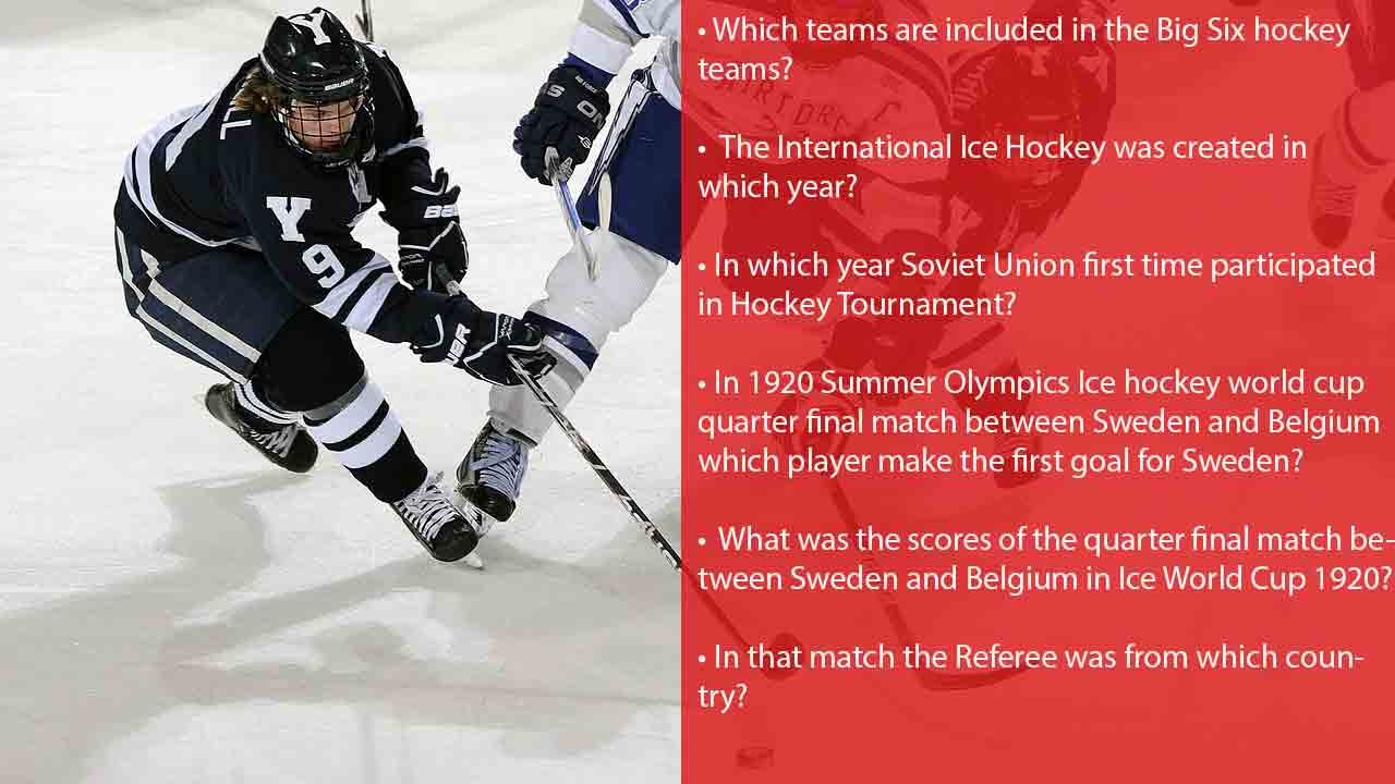 Hockey trivia facts