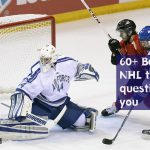 60+ Best NHL trivia questions with answers[Playoffs season Stanley Cup]