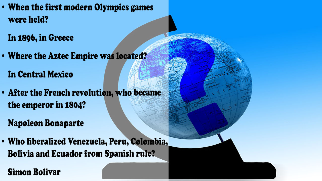 World Trivia Questions and Answers