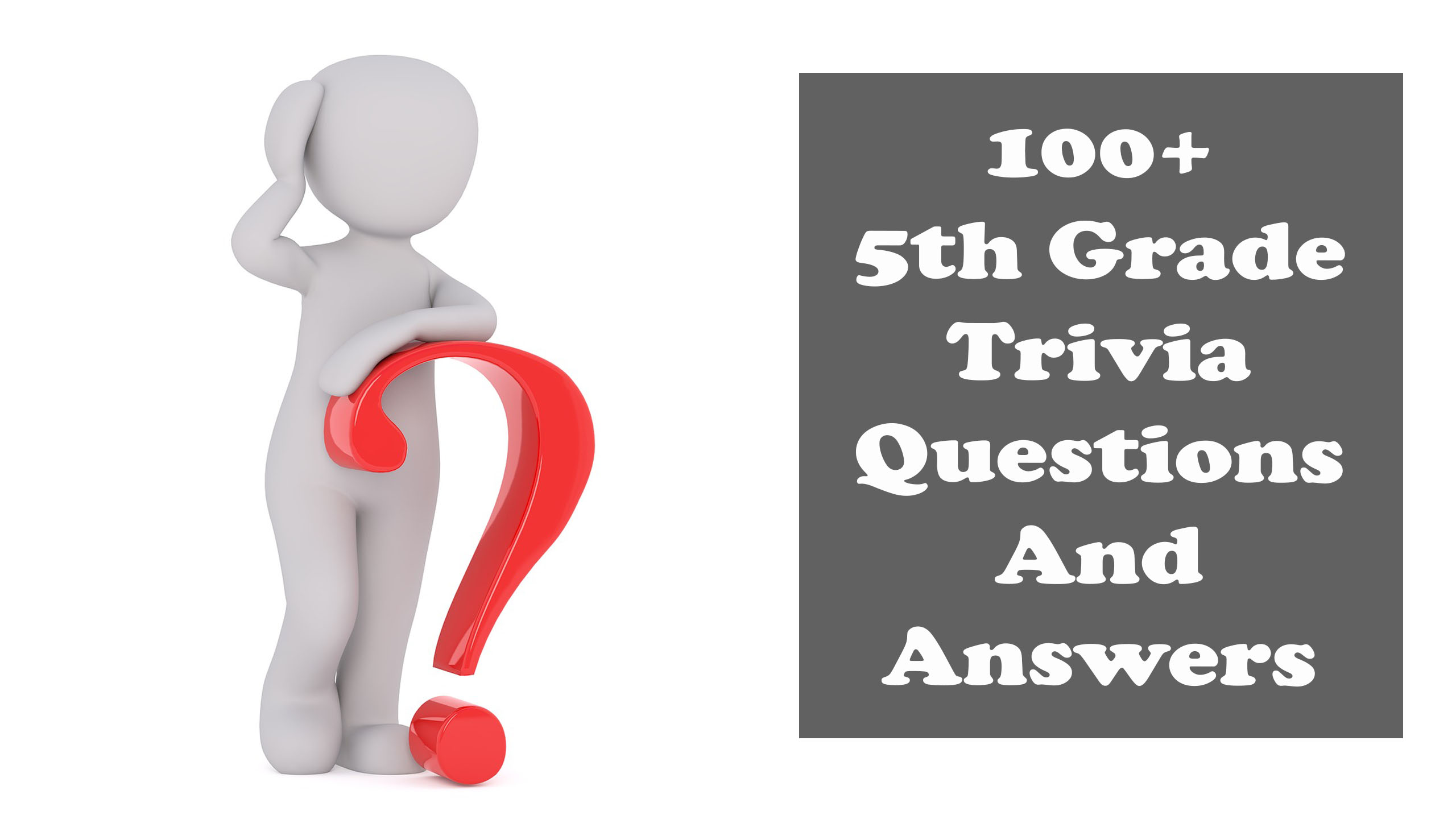 It's just a picture of 5th Grade Trivia Questions and Answers Printable inside middle school student