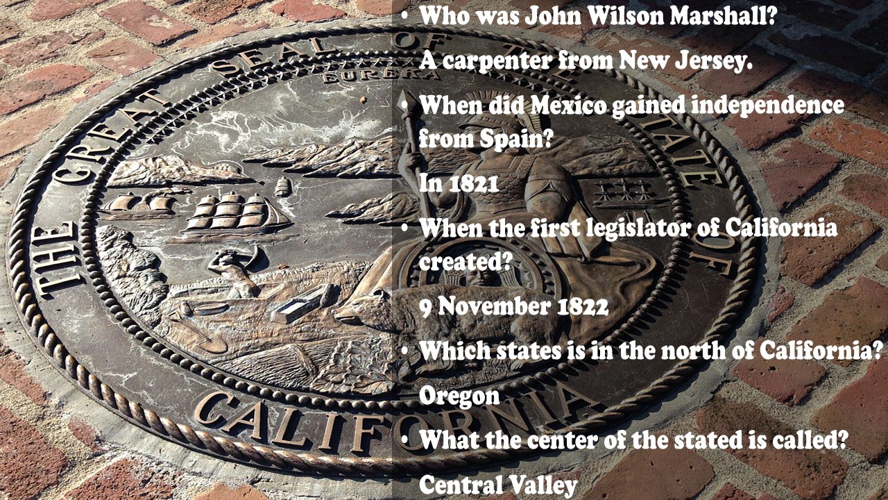 CaliforniaHistoryTriviaQuestions
