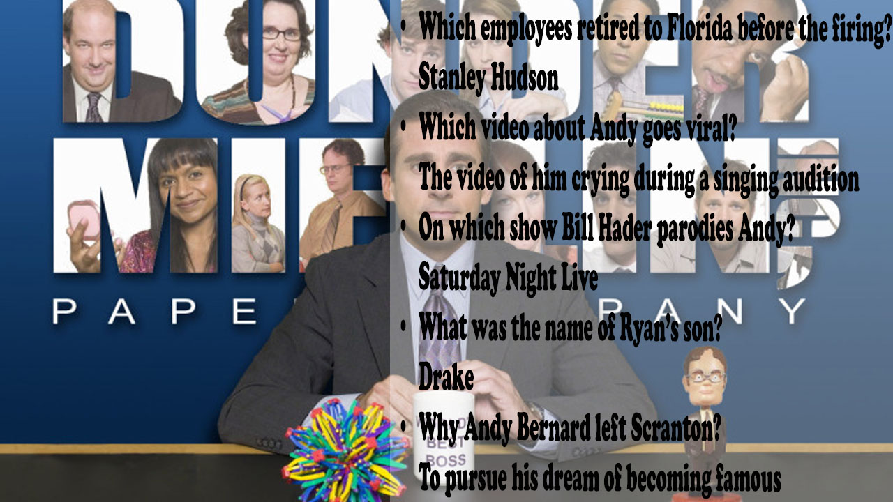 The Office Trivia Question