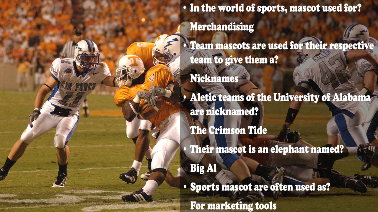 College Football Trivia Question