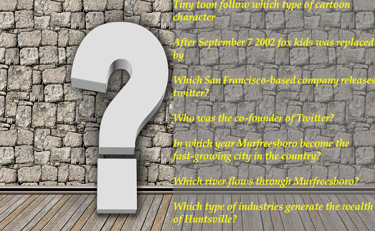 Brain Buster Trivia Questions