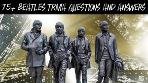 Beatles trivia question